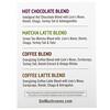 Om Mushrooms, Mushroom Hot Drink Blends, Hot Chocolate, Coffee Latte, Matcha, Coffee Blend, 4 Stick Sample Pack