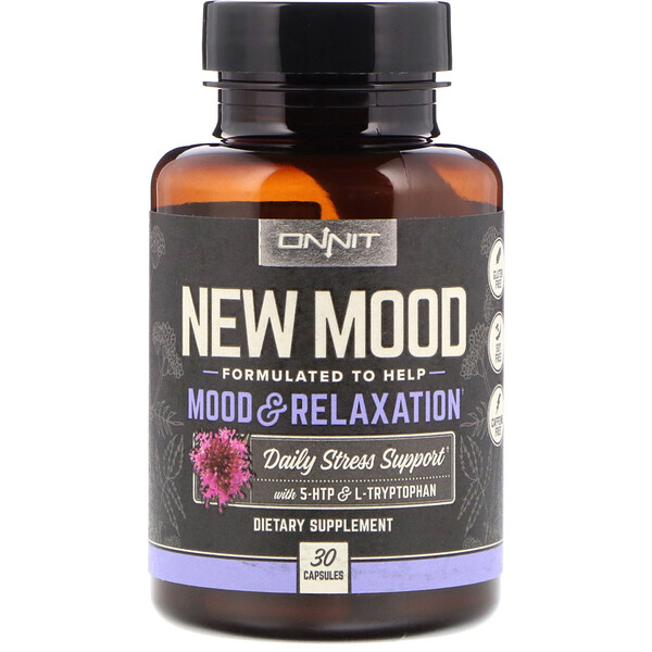 New Mood, Mood & Relaxation, 30 Capsules