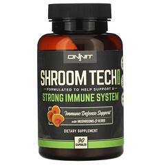 Onnit, Shroom 技術免疫,90 粒膠囊