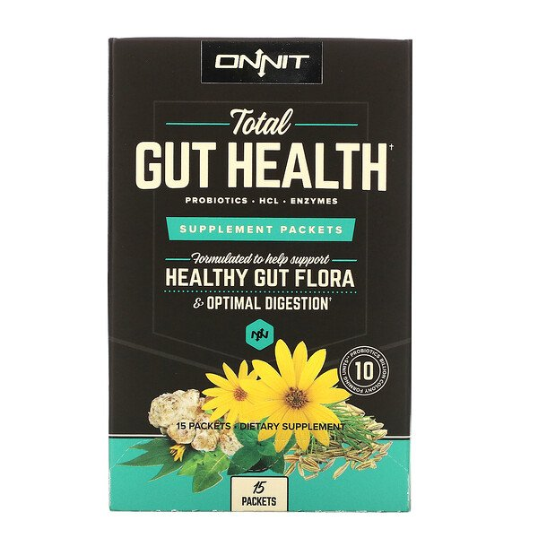Total Gut Health, Supplement Packets, 15 Packets
