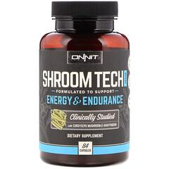 Onnit, Shroom Tech Sport, Energy & Endurance, 84 Capsules