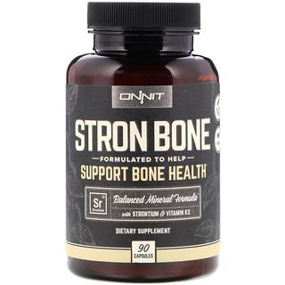 Onnit, Stron Bone, 90 Capsules