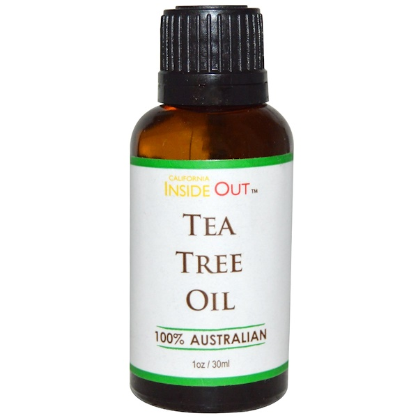 Out of Africa, California Inside Out, Tea Tree Oil, 1 oz (30 ml) (Discontinued Item)