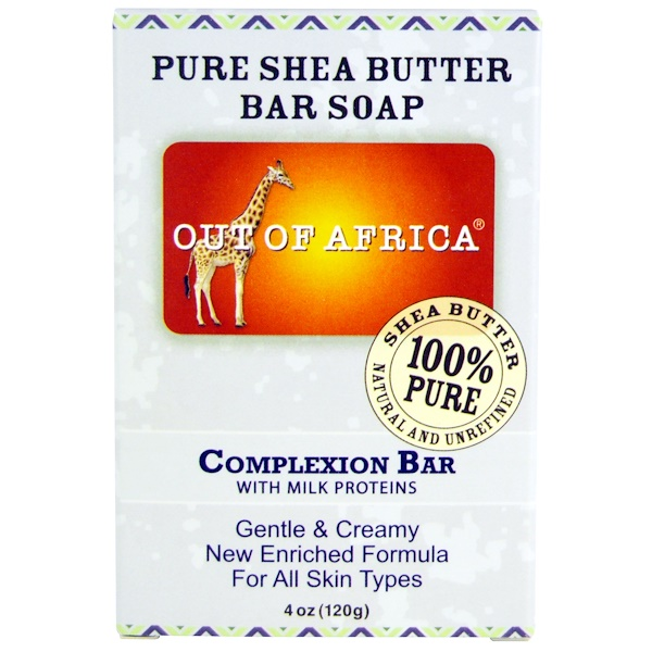 out of africa pure shea butter bar soap complexion bar. Black Bedroom Furniture Sets. Home Design Ideas