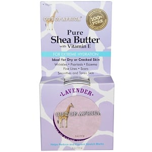 Аут оф Эфрика, Pure Shea Butter, with Vitamin E, Lavender, 5 oz (142 g) отзывы