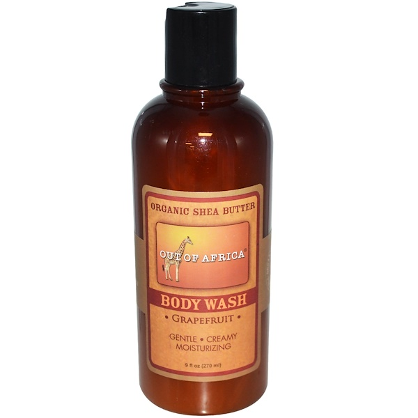 Out of Africa, Body Wash, Grapefruit, 9 fl oz (270 ml) (Discontinued Item)