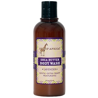 Out of Africa, Shea Butter Body Wash, Lavender, 9 fl oz (270 ml)