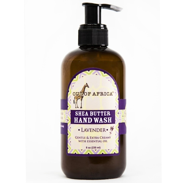 Out of Africa, Shea Butter Hand Wash, Lavender, 8 oz (230 ml) (Discontinued Item)