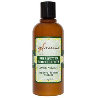 Out of Africa, Shea Butter Body Lotion, Lemon Verbena, 9 fl oz (270 ml)