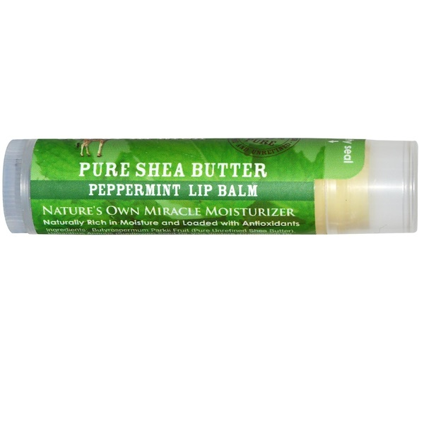 Out of Africa, Lip Balm, Peppermint, 0.15 (4 g) (Discontinued Item)