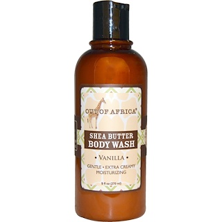 Out of Africa, Shea Butter Body Wash, Vanilla, 9 fl oz (270 ml)