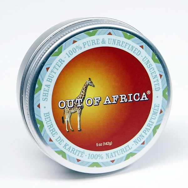 Out of Africa, Organic Shea Butter, Unscented, 2 oz (56 g) (Discontinued Item)