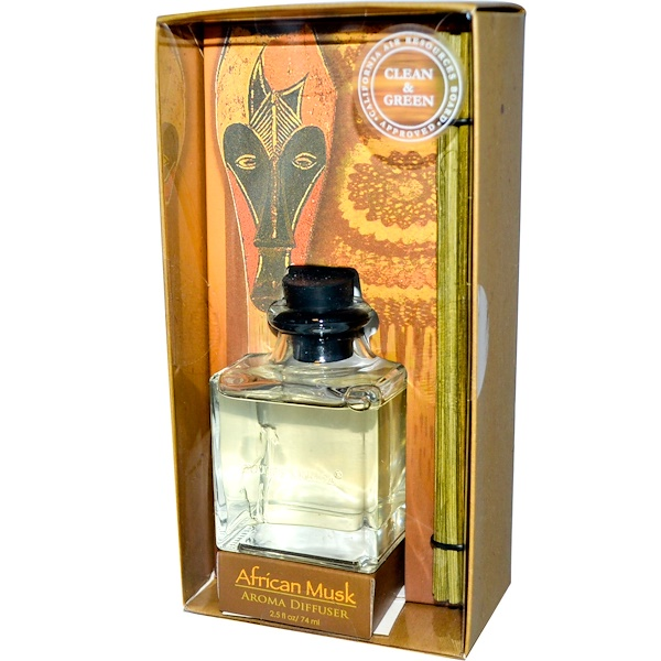 Out of Africa, Aroma Diffuser, African Musk, 2.5 fl oz (74 ml) (Discontinued Item)