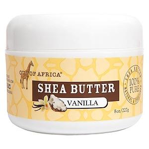 Аут оф Эфрика, Raw Shea Butter, Vanilla, 8 oz (227 g) отзывы покупателей