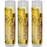 Отзывы о Out of Africa, Бальзам для губ с натуральным маслом ши, тропический ваниль, 3 упаковки, 4 г (0,15 унции) каждая