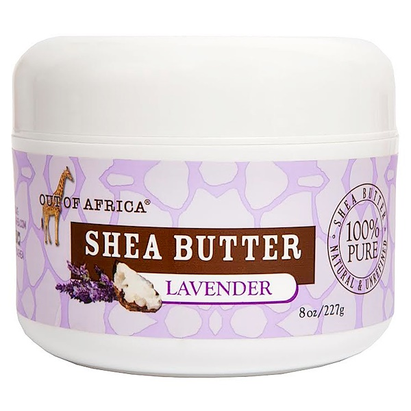 Out of Africa, Raw Shea Butter, Lavender, 8 oz (227 g) (Discontinued Item)