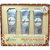 Out of Africa, Shea Butter Hand Cream Set, 3 Tubes, 1 oz (28.3 g) Each (Discontinued Item)