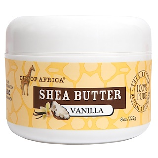 Out of Africa, Raw Shea Butter, Vanilla, 4 oz (113 g)