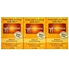 Out of Africa, Pure Shea Butter Bar Soap, Apricot Exfoliating Bar, 3 Pack, 4 oz (120 g) Each