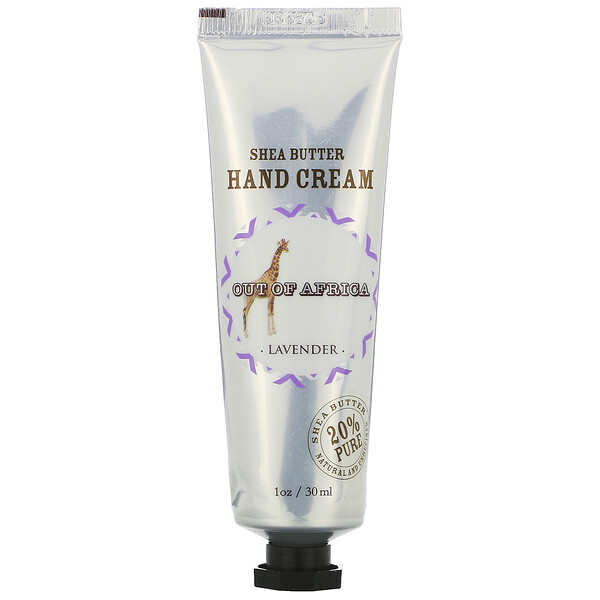 Shea Butter Hand Cream, Lavender, 1 oz (30 ml)