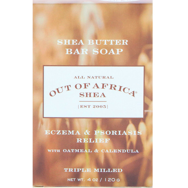 Out of Africa, Shea Butter Bar Soap, Oatmeal & Calendula, 4 oz (120 g)