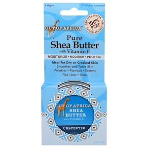 Аут оф Эфрика, Pure Shea Butter with Vitamin E, Unscented, 2 oz (57 g) отзывы покупателей