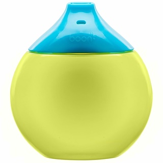 Boon, Fluid, Sippy Cup, 9 + Months, Blue / Green, 1 Sippy Cup