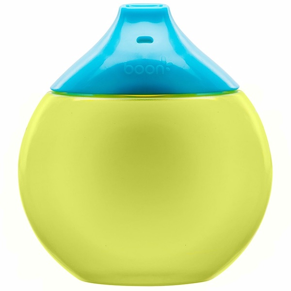 Boon, Fluid, Sippy Cup, 9 + Months, Blue / Green, 1 Sippy Cup (Discontinued Item)