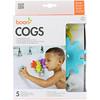 Boon, Cogs, Building Bath Toy Set, 12 + Months, 5 Bath Toys