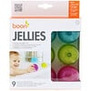 Boon, Jellies, Suction Cup Bath Toys, 12+ Months, 9 Suction Cup Bath Toys