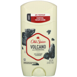 Old Spice, Anti-Perspirant & Deodorant, Volcano with Charcoal, 2.6 oz (73 g) отзывы