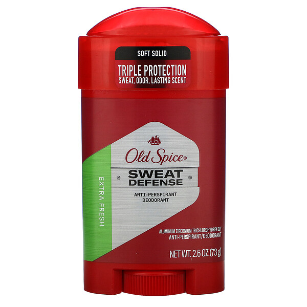 Anti-Perspirant Deodorant, Soft Solid, Extra Fresh, 2.6 oz (73 g)