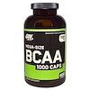 Optimum Nutrition, オプティマムニュートリション, BCAA Caps, Mega-Size, 1000 mg, 400 Capsules
