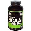 Optimum Nutrition, メガサイズ BCAA 1000 カプセル, 1000 mg, カプセル 200粒