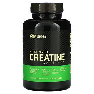 Optimum Nutrition, Micronized Creatine Capsules, 100 Capsules