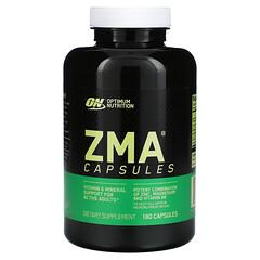Optimum Nutrition, ZMA 鋅鎂素運動修復補充劑,180 粒膠囊