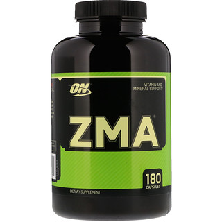 Optimum Nutrition, ZMA , 180 캡슐