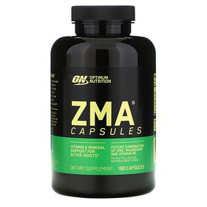 Оптимум Нутришэн, ZMA, 180 Capsules отзывы
