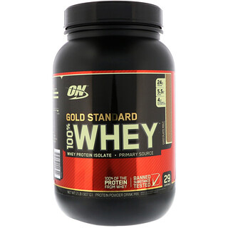 Optimum Nutrition, Gold Standard, 100% Whey, Chocolate Malt, 2 lb (907 g)