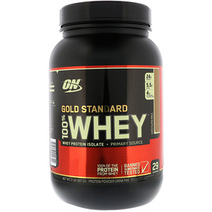 Оптимум Нутришэн, Gold Standard 100% Whey, Chocolate Malt, 2 lb (907 g) отзывы покупателей