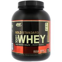 Gold Standard, 100%-ная сыворотка, шоколадный солод, 2,27 кг - фото