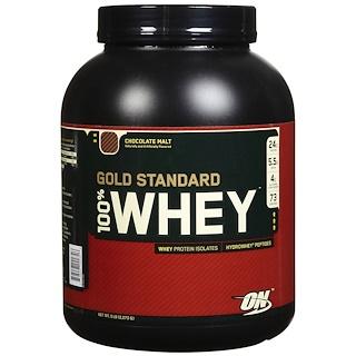 Optimum Nutrition, 100% Whey Gold Standard, шоколадная сгущенка, 2,273 г