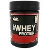 Optimum Nutrition, 100%ホエイプロテイン、ダブルリッチチョコレート、1 lb (454 g)