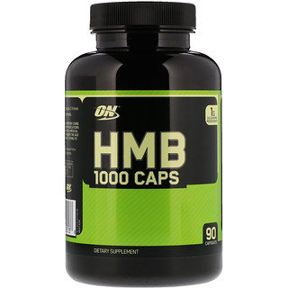 Optimum Nutrition, HMB 1000 Caps, 90 cápsulas