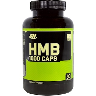 Optimum Nutrition, HMB 1000 Caps, 90 Capsules