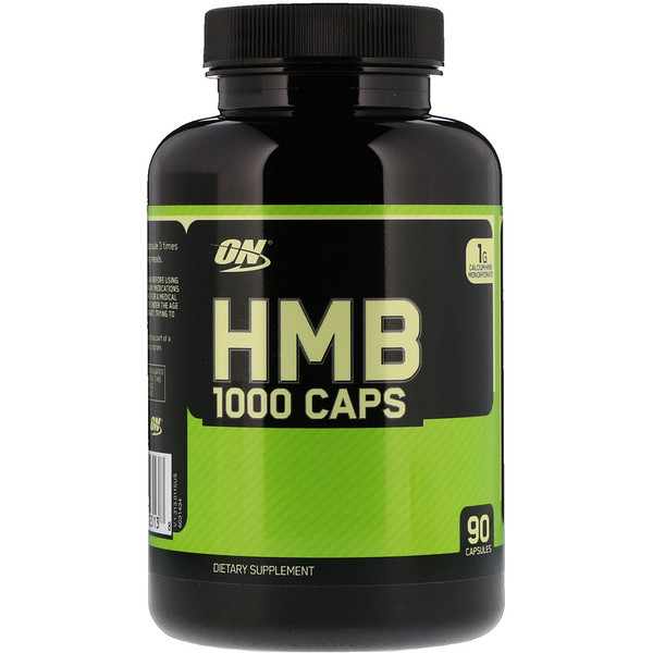 Optimum Nutrition, HMB 1000mg入り、90粒