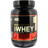 Optimum Nutrition, Gold Standard Whey 100%, French Vanilla Crème, 909 g (2 lbs)