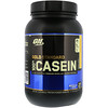 Optimum Nutrition, Gold Standard 100%カゼイン、バナナクリーム、2 lbs (909 g)