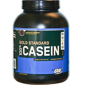 Оптимум Нутришэн, 100% Casein Gold Standard, Chocolate Supreme, 4 lbs (1818 g) отзывы