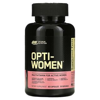 Optimum Nutrition, Opti-Women، 60 كبسولة